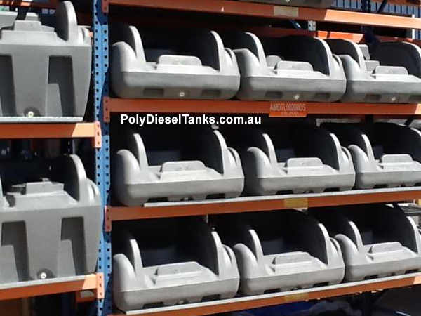 Rapid spray genius diesel tanks ready to go to assembly